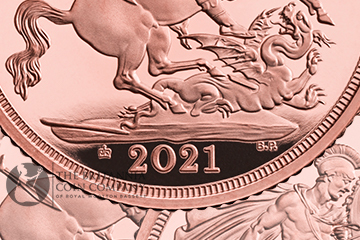 2021 Gold Proof Sovereign