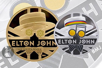 Royal Mint Elton John Music Legends