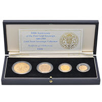 1989 4-coin Sovereign Set