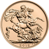 2015 Gold Sovereign