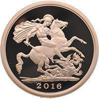 2016 5 Coin Sovereign Set