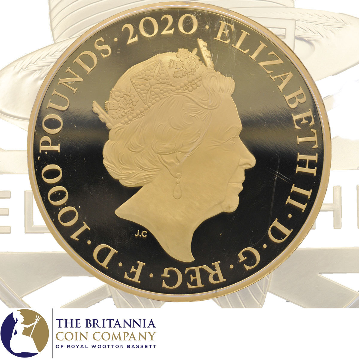 Elton John 2020 UK Kilo Gold Proof Coin