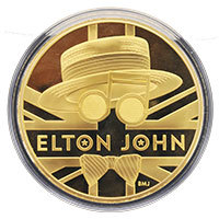 Royal Mint Elton John 2020 UK Kilo Gold Proof Coin