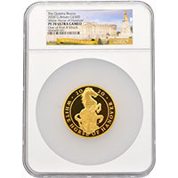 White Horse of Hanover 2020 5oz Gold Proof Coin