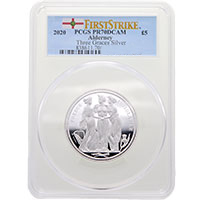 2020 Alderney The Three Graces Silver 2oz