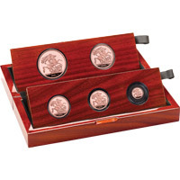 2021 Five-Coin Sovereign Set