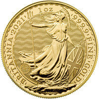 2021 One Ounce Gold Britannia