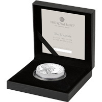 2021 2oz Silver Proof Premium Exclusive Britannia
