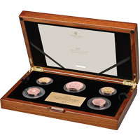 2021 Annual Gold Proof Commemorative Coin Set