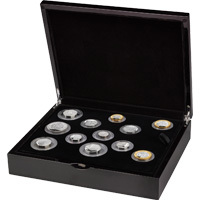 2021 Annual Set : UK Silver Proof Coin Collection