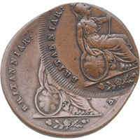 1837 Double Strike Farthing