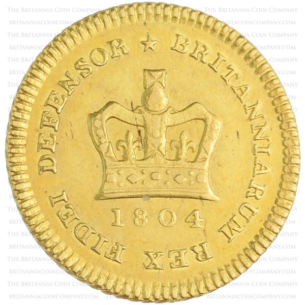 1804 George III Gold Third Guinea