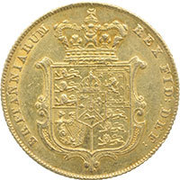 1825 George IV Gold Sovereign