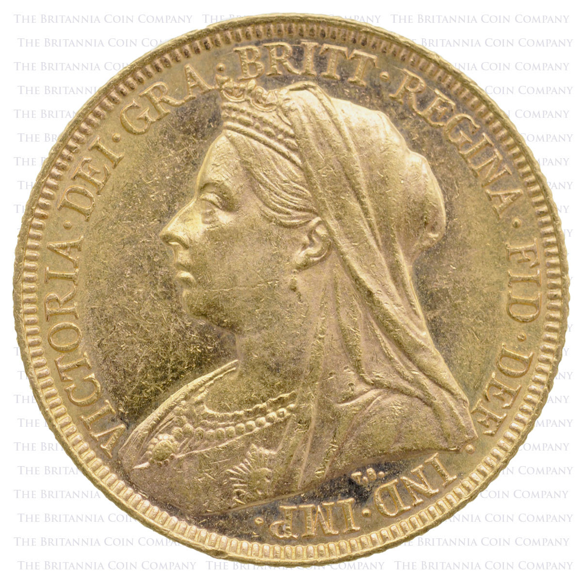1896 Gold Sovereign