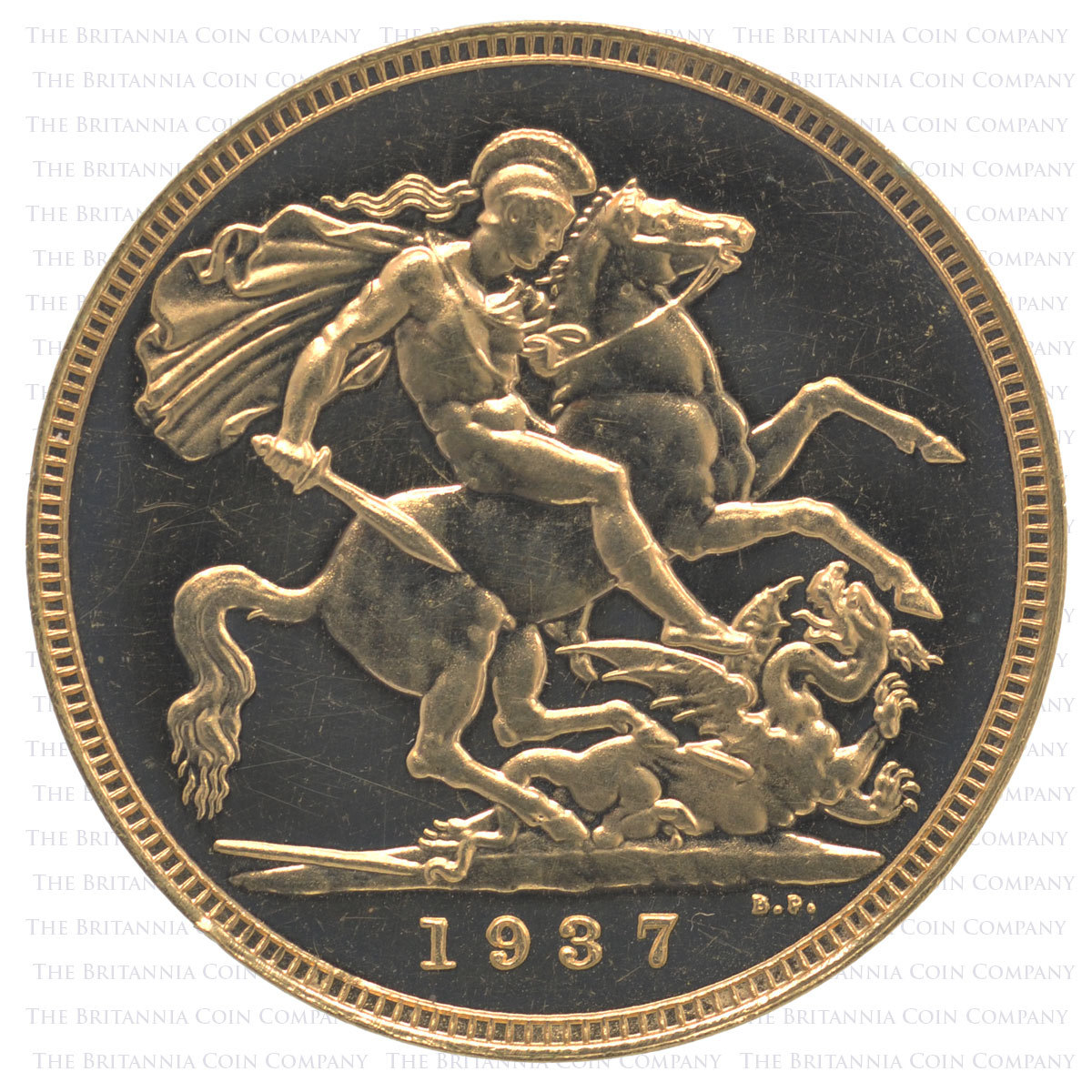 1937 Proof Sovereign