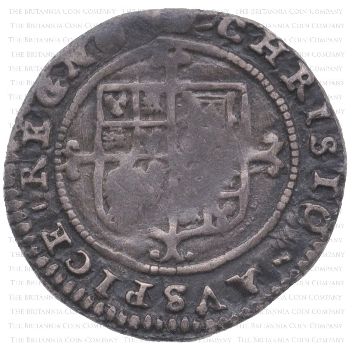 1660-2 Charles II Hammered Silver Twopence MM Crown
