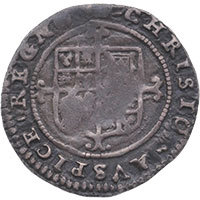 1660-2 Charles II Hammered Silver Twopence mm Crown Reverse