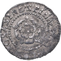 1604-19 James I Hammered Silver Halfgroat MM Tower Reverse
