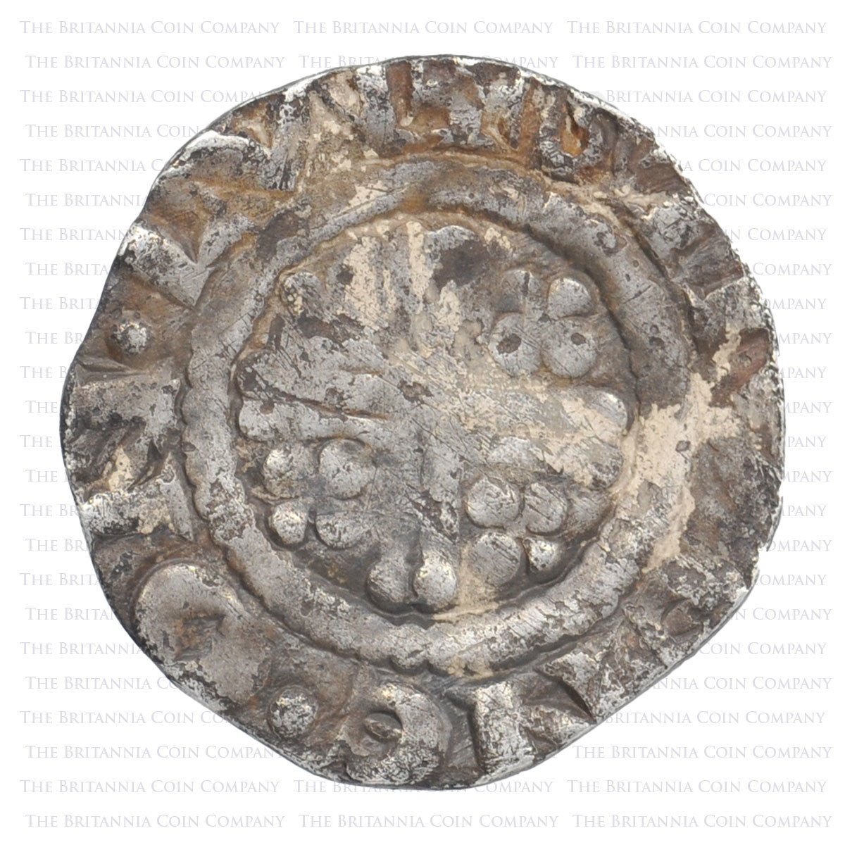 1189-99 Richard I Hammered Silver Penny. Steven on London reverse