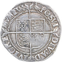 1560-1 Elizabeth I Hammered Silver Groat mm 'Martlet' Reverse @ 200
