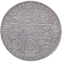 1720 George I Halfcrown