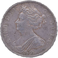 1703 Queen Anne Halfcrown