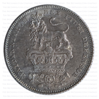 1826 George IV Silver Sixpence