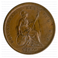 1826 George IV Copper Penny