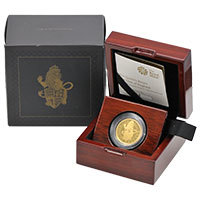 UK17QBQO-queens-beasts-2017-lion-of-england-quarter-ounce-gold-proof-BOXED@200