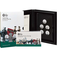 50 Years of the 50 Pence : 2019 Base Proof Military Set