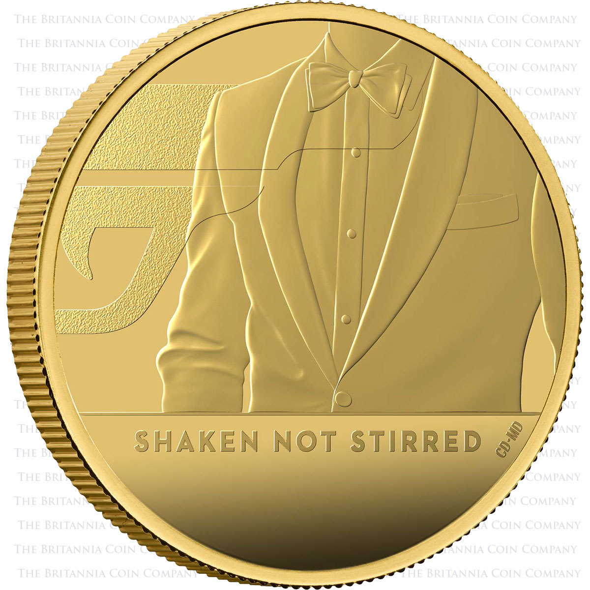 Shaken Not Stirred One Ounce Gold Proof