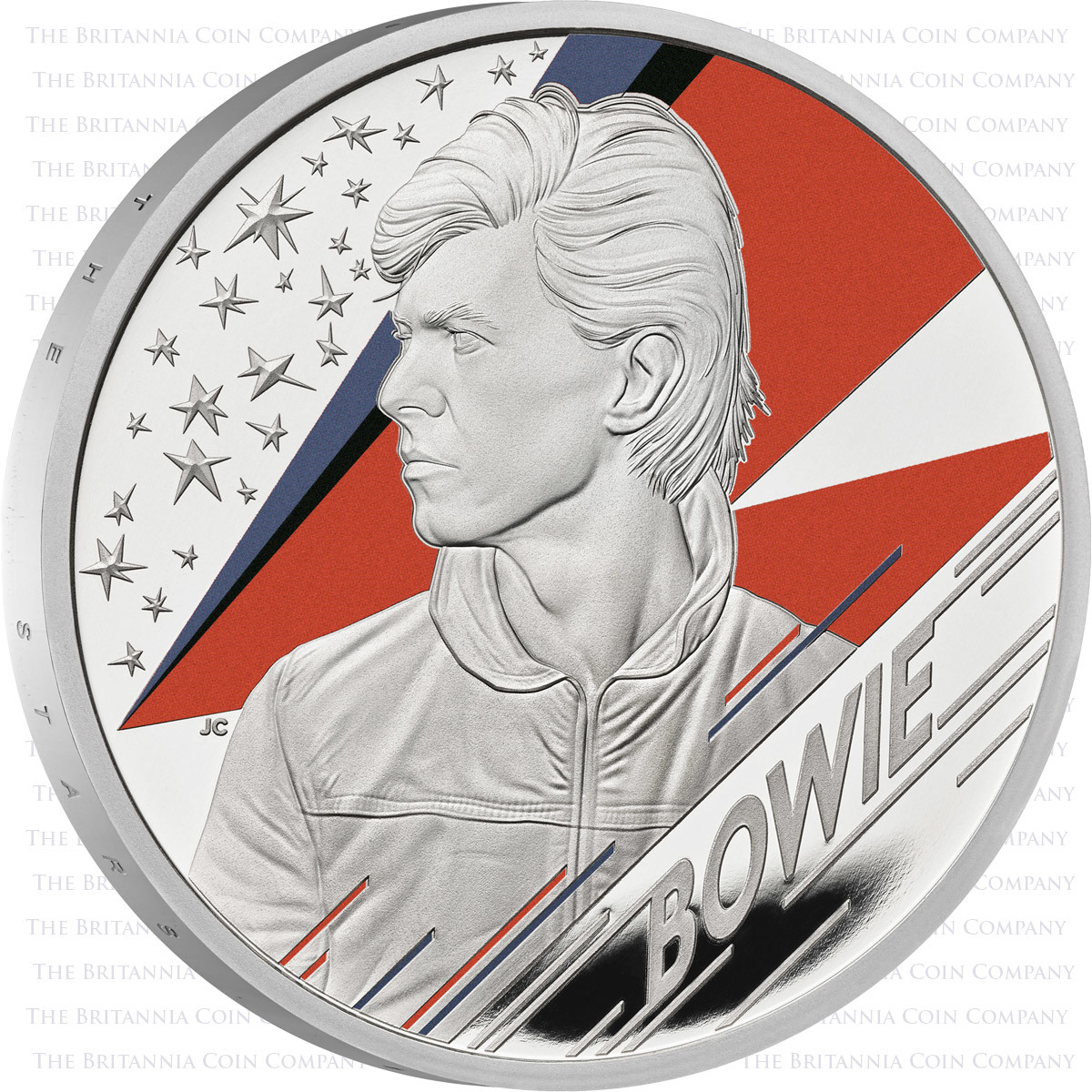 2020 David Bowie 1 Ounce Silver Proof