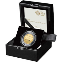 2020 Queen Quarter-Ounce Gold Proof