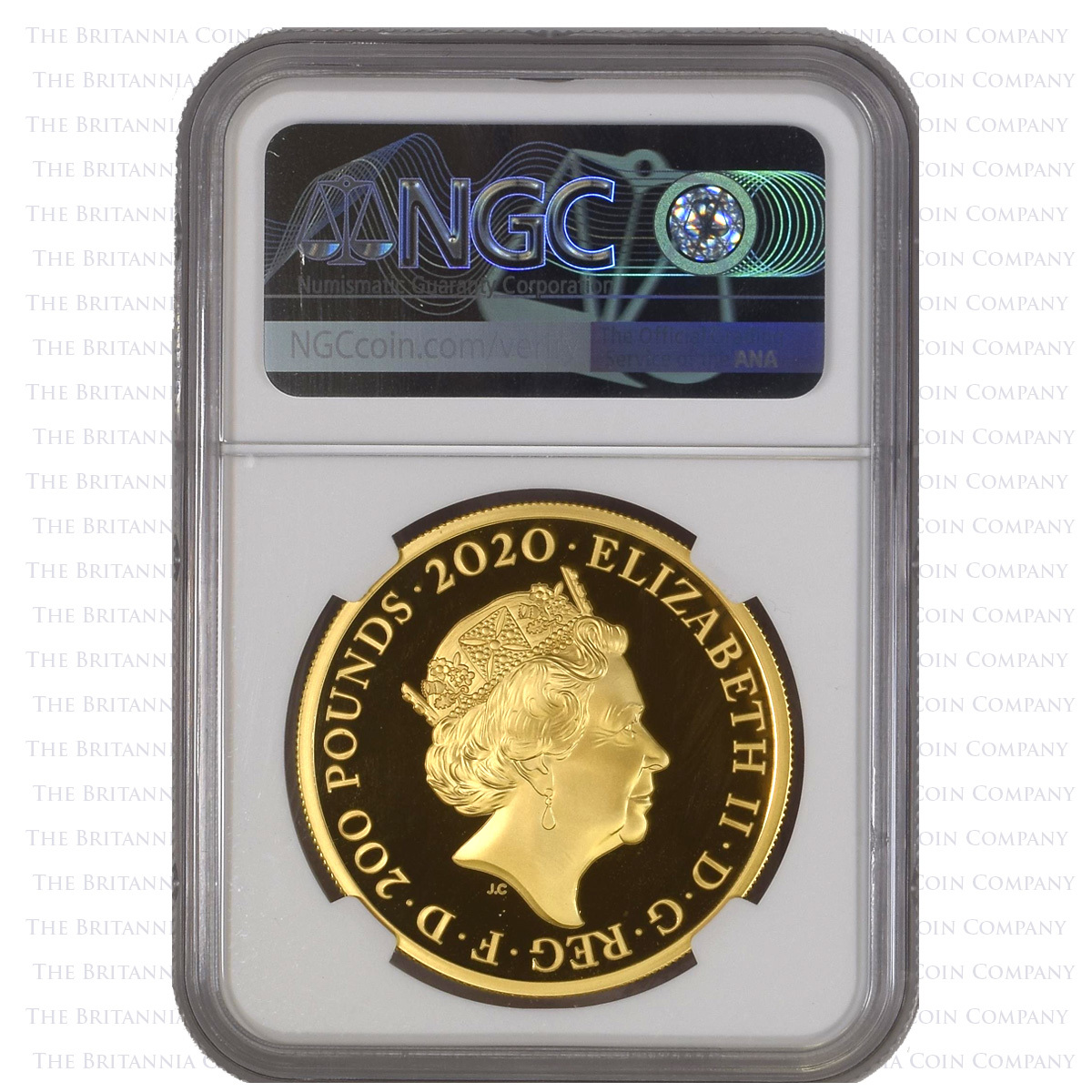 NGC PF70 Ultra Cameo Three Graces 2oz Gold