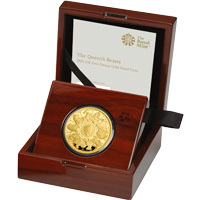 The Queen's Beasts Completer Coin : 2021 One Ounce Gold Proof