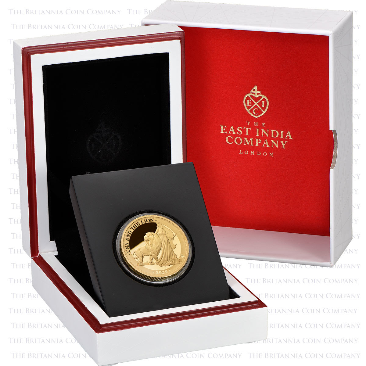 2020 Una and the Lion 1oz gold proof coin