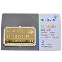 Umicore 1 Ounce Bar
